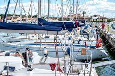 In attesa di prendere il mare. #sea #mare #navigare #portodellamaremma
