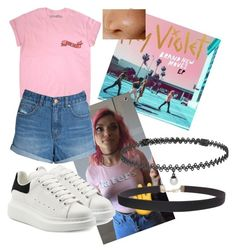 """Hey violet"" by sarina161 ❤ liked on Polyvore featuring Billabong, Alexander McQueen, Humble Chic and BERRICLE"