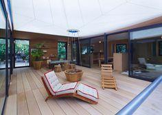 La Maison au Bord de l'eau, Charlotte Perriand / Louis Vuitton http://www.journal-du-design.fr/architecture/la-maison-au-bord-de-leau-charlotte-perriand-louis-vuitton-38256/