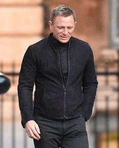 James Bond Daniel Craig Spectre Suede Jacket