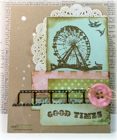 Unity Stamp Co. - Design Team Member - Andrea Murdock - Using the Kit of the Month - August 2011 - {What I Know} http://www.unitystampco.com