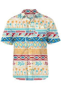 d3b54cf46ee City of San Diego Tribal Hawaiian Aloha Shirt