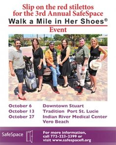 Walk a mile in her shoes event to take a stand against domestic violence