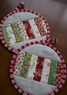 Christmas potholders | Flickr - Photo Sharing!