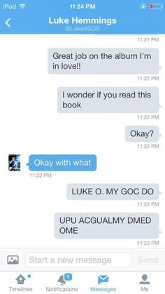 """BAHAHAHAHA 'okay with what?"""" I can just imagine his face looking so confused and calum getting it"""