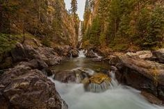 Mystic Falls You cant help but admire the depth in this landscape long exposure by +Steven Reed via Beautiful Landscape Photography, Beautiful Landscapes, Fine Art Photography, Nature Photography, Mystic Falls, Sale Poster, American Artists, Colorado Waterfalls, Fine Art America