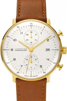 Max Bill Chronoscope Or