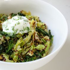 "Toasted Quinoa and Cabbage For Digestion--Summer is less than 90 days away--start eating clean now and flush your body from the winter blues--here's a great recipe to help you ""Lean Out"""