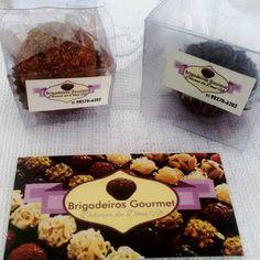 Brigadeiros Gourmet: Novas embalgens
