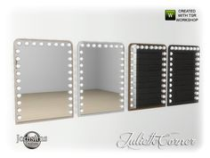 Juliette corner wall mirror for vanity table Found in TSR Category 'Sims 4 Mirrors' Baby Must Haves, Los Sims 4 Mods, The Sims 4 Bebes, Sims 4 Cc Folder, Muebles Sims 4 Cc, The Sims 4 Packs, Sims 4 Collections, Sims 4 Bedroom, Sims 4 Children