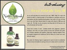 Nora's Naturals | New Product Announcement!