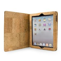 Cork Folio Case for iPad Christmas Presents, Ipad Case, Cork, Wallet, My Love, Unique Jewelry, Handmade Gifts, Accessories, Etsy
