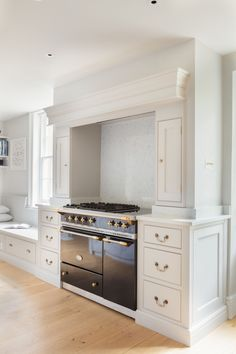 I love this...reminds me of my mother's house in France. I will always be drawb to an oven niche! Corinne Madias Realty MICHIGAN