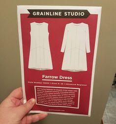 Got my #farrowdress pattern today from @catessewmodern  can't wait to start! #slowfashionoctober #handmadewardrobehandmadewardrobe,slowfashionoctober,farrowdressknitnatural
