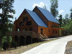 Cadiz Vacation Rental - VRBO 305230 - 3 BR Lake Barkley House in KY, One of a Kind New Cedar Log Home