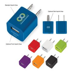 2810 This USB A/C adapter powers up your smart phone or tablet in no time! Fast and efficient charging at home, in the office or on the go. Available in 7 colors. Approximate Size: W x 1 H x D. Promo Gifts, Mobile Technology, Best Phone, Corporate Gifts, Corporate Giveaways, Tech Gifts, Computer Accessories, Mother Day Gifts, Usb Flash Drive
