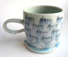 Hey, I found this really awesome Etsy listing at https://www.etsy.com/listing/165197368/made-to-order-rain-cloud-porcelain-mug