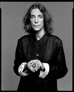 Patti Smith, singer, New York, April 17, 1998   	Copyright	 	© 2008 The Richard Avedon Foundation