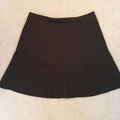 """J. Crew Black bell skirt size 4 J. Crew """"bell-like"""" skirt size 4. Worn only a couple of times. Also selling same one in navy! J. Crew Skirts Mini"""