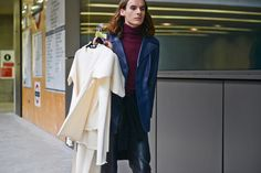 Street Style: Central Saint Martins - Gallery - Style.com