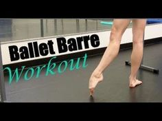 Easy (srsly) ten minute barre exercise for fancy dancer legs. All you need is a chair!