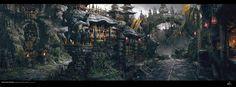 40 concept arts éblouissants du digital painter chinois Yang Qi | Design Spartan : Art digital, digital painting, webdesign, illustration et inspiration…