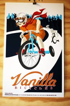 BikePortland.org » Blog Archive » Vanilla to unveil new 'cross bike, poster at builder's show