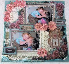 Heartfelt Creations | Memories Forever Layout