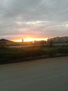 Sunset. .