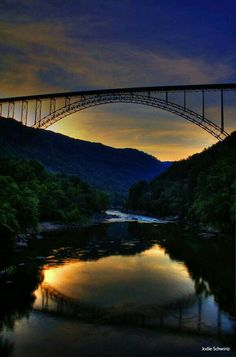 New River Gorge Bridge in Fayetteville, WV