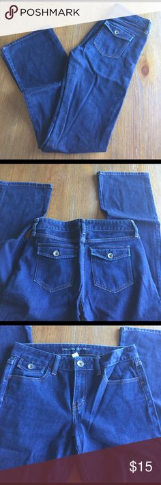 Banana Republic Bootcut Jeans Amazing bootcuts. Great condition. These have been washed a lot so they kind of feel like pajamas. No flaws. Size 26. No trades. Banana Republic Jeans Boot Cut