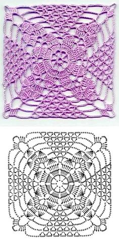 Padrões de crochê