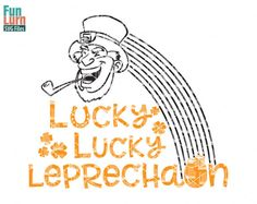 Lucky Leprechaun Pinch Proof svg St Patrick's Day by FunLurnSVG