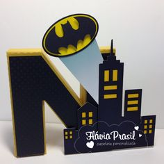 Letras 3D BATMAN