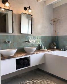 master bathroom decor, bathroom design, traditional modern bathroom, farmhouse m. New Bathroom Designs, Bathroom Trends, Bathroom Inspo, Modern Bathroom Design, Bathroom Interior Design, Bathroom Inspiration, Bathroom Ideas, Modern Interior, Minimal Bathroom