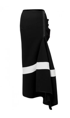 Victory Longline Flute Skirt | tonimaticevski.com