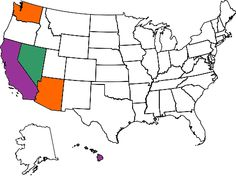 So Sad...As of March 2012 I can say I've only been to 5 out of the 50 states =( I need to go on more vacations!