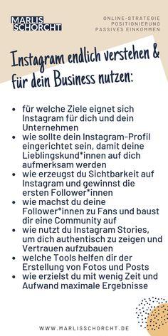 Instagram Tipps. Inhalte meines Online-Trainings für Selbstständige und Unternehmer*innen. Erfolgreich Instagram nutzen, Follower gewinnen und Community aufbauen. Meine Anleitung und Empfehlungen. #instagram #erfolg #socialmedia