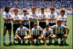 Mundial 86, en Mexico. Argentina campeón