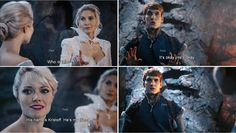 """""""He's my friend."""" Elsa and Kristoff - 4 * 3 """"Rocky Road"""""""
