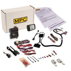 Prewired Remote Start & Keyless Entry Kit Compatible with Select Ford F Series Trucks [2011 - 2016]. Kit is Prewired and Includes a T-Harness To Simplify the Installation! For Diesel Engines Only