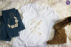 Lord Have Mercy V-Neck Tee