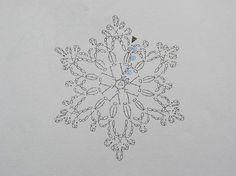 かぎ編みの雪の結晶 - Google 検索