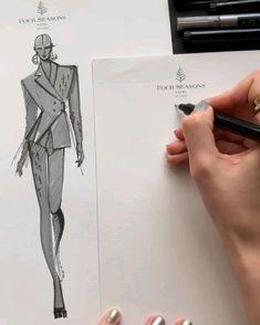 Dress Design Drawing, Dress Design Sketches, Fashion Design Sketchbook, Fashion Design Drawings, Fashion Sketches, Fashion Design Illustrations, Croquis Fashion, Fashion Illustration Template, Fashion Illustration Collage