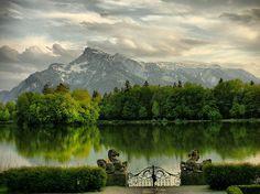 "Schloss Leopoldskron, Salzburg, Austria - scene of ""Sound of Music"""