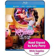 Katy Perry: Part Of Me (Limited Autographed Edition) (Blu-ray + DVD + Digital Copy + UltraViolet) (Exclusive) (Widescreen)