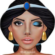 5 maquiagens inspiradas na Disney                                                                                                                                                                                 Mais