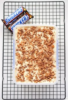 Jamie Oliver Snickers Semifreddo
