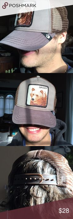 """0a0ce245 Goorin Brothers Animal Farm """"Grizz"""" Bear hat NWT Goorin Brothers makes  expertly crafted hats"""