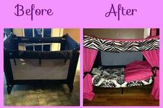 Great idea for when baby get too big for their crib
